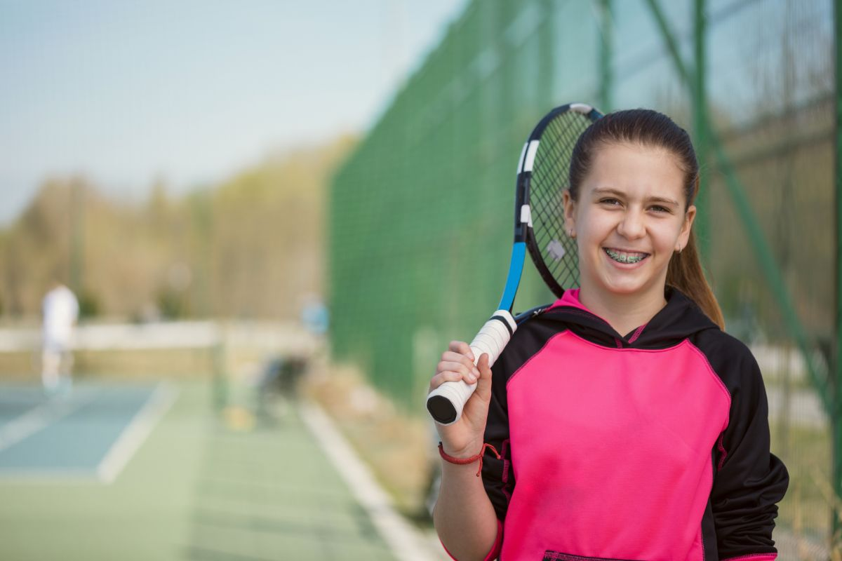 Playing Sports With Braces
